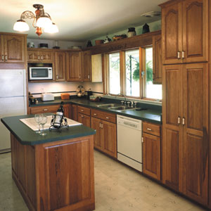 Simple kitchen makeovers kitchen this old house for Kitchen remodel ideas for older homes