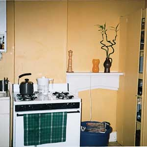 California bungalow kitchen; after