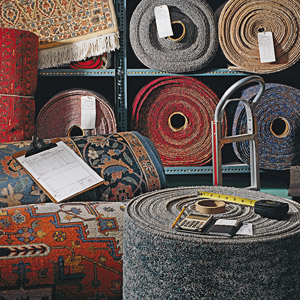 circle of carpets