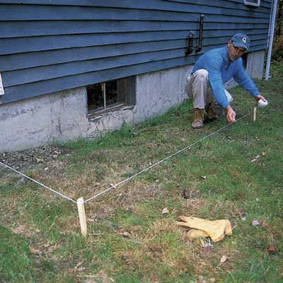 Lay Out The Trench How To Extend A Downspout This Old