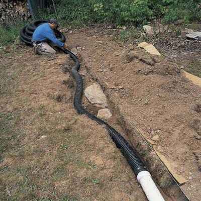 Finish The Job Amp Backfill How To Extend A Downspout