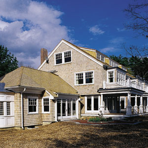 House with Cedar Siding