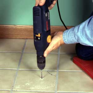 How to repair cracked floor tile