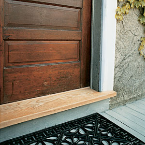 Aluminum Door Replacing Aluminum Door Threshold
