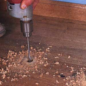 repairing wood floors