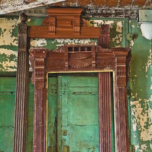 carved door casings