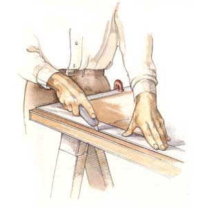 No-Splinter Sawing