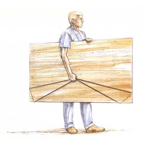 Plywood Pick-Up