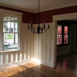 Build Simple Wainscoting From Stock | Wainscoting | Molding
