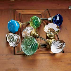 Glass Knobs