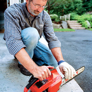 norm's chainsaw safety tips