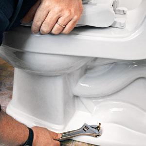 toilet, fix, wrench