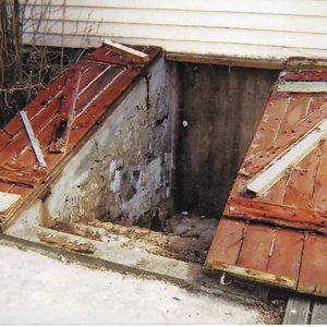 replacing bulkhead doors basements foundations this old house