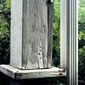 Rebuilding Porch Columns