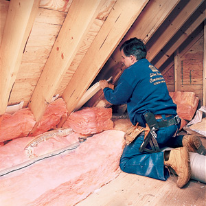 insulating the attic