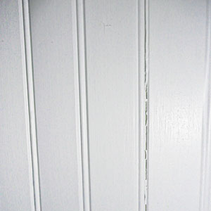 Hiding Beadboard Gaps