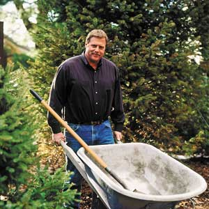 landscape contractor Roger Cook