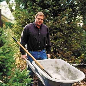landscape contractor Roger Cook