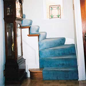 Handrail for Wining Stairs