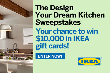 Design Your Dream Kitchen Sweepstakes From Ikea