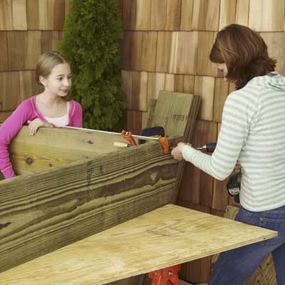 assemble the sandbox
