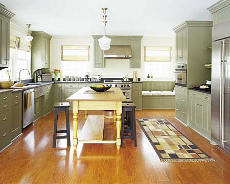 Island style eat in kitchens this old house Eat in kitchen island