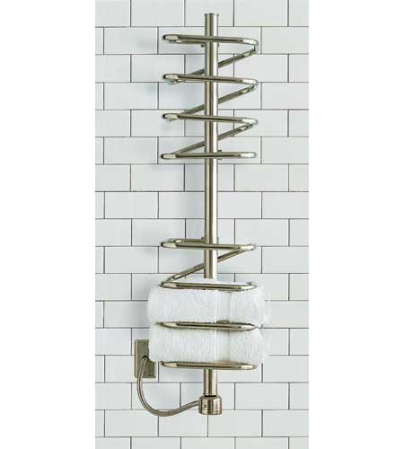 Narrow towel warmer