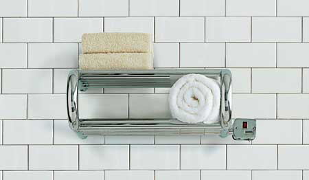 a towel warmer