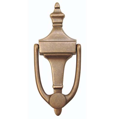 solid brass door knocker