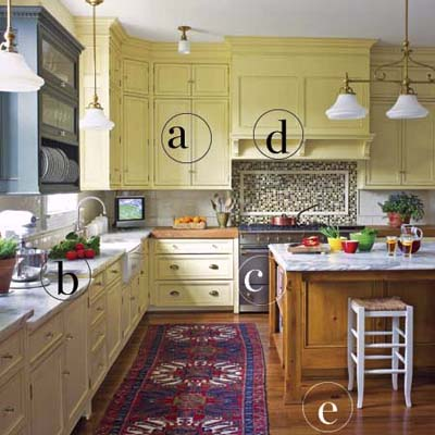 modernized old-style kitchen from 1880s farmhouse remodel