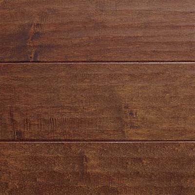 closeup on maple engineered flooring