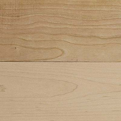 closeup on American cherry engineered flooring