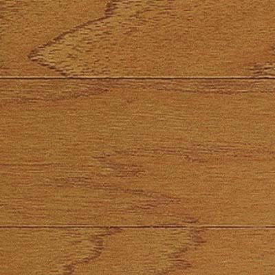 closeup on hickory engineered flooring