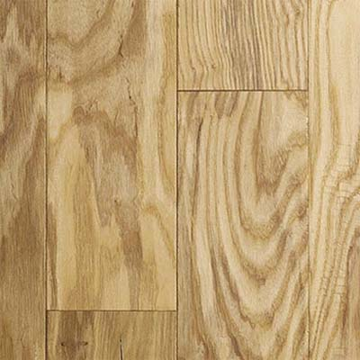 closeup on white ash engineered flooring
