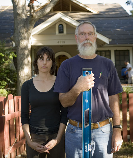 michele grieshaber, bill moore, green builder, american gothic