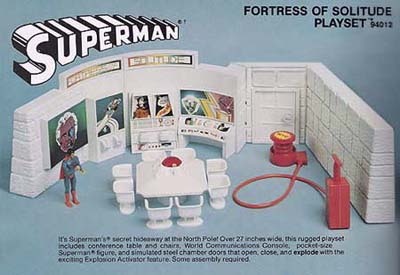 Fortress of Solitude playset