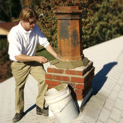 chimney pots installation