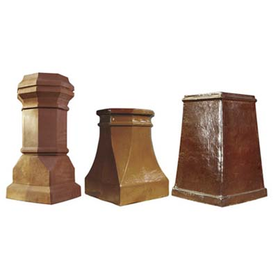 jumbo sized chimney pots