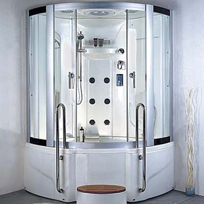 The LineaAqua Burton steam shower