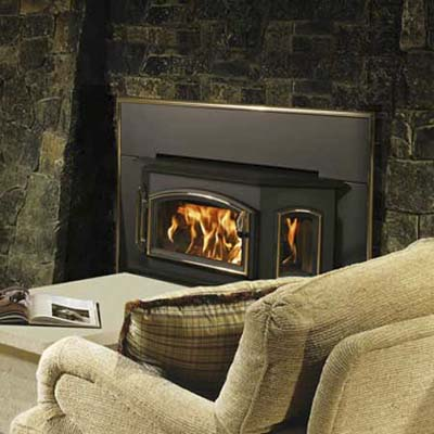 quadrafire wood fireplace insert