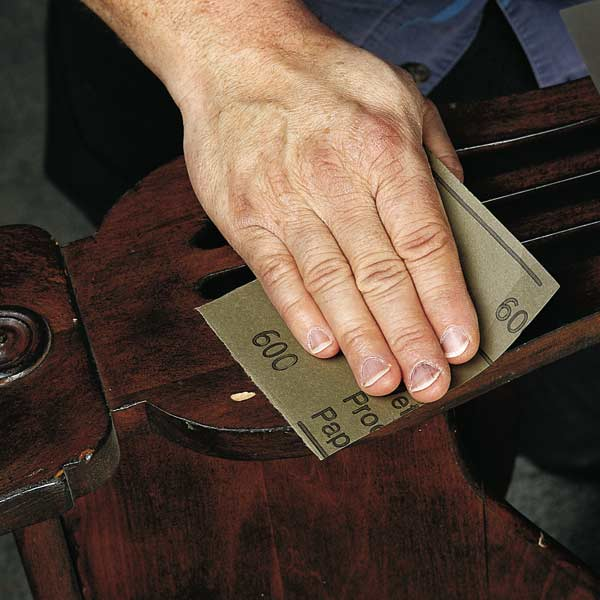 Gouges Nicks And Dings Step 1 How To Fix A Furniture