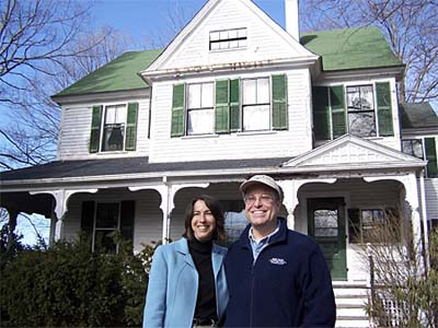 Holly and Bill Clack's Victorian