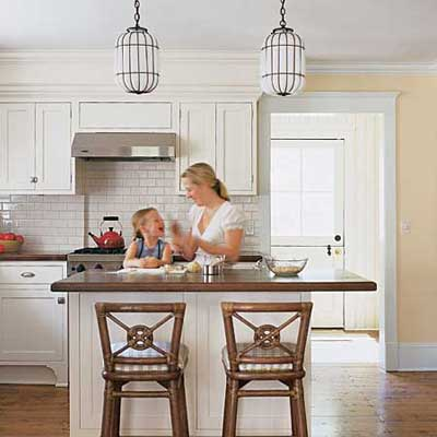 homeowner in the Sag Harbor kitchen