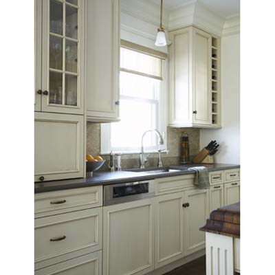 kitchen counters cabinets