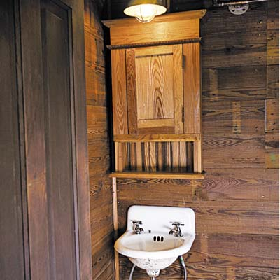 vintage style sink