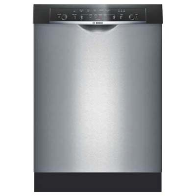 front view of Bosch Ascenta dishwasher