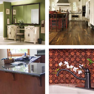 selection of affordable products from KBIS