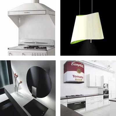 composite selection of vent hoods from the gallery