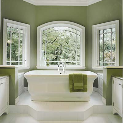 Master Bathroom on Gorgeous   Green Master Bathroom   Steal Ideas From Our Best Bath