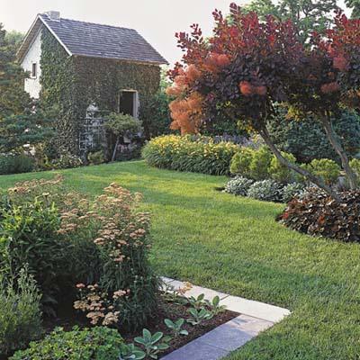 flower beds as edging
